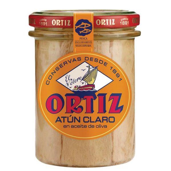 נתחי טונה צהובה בשמן זית אורטיז