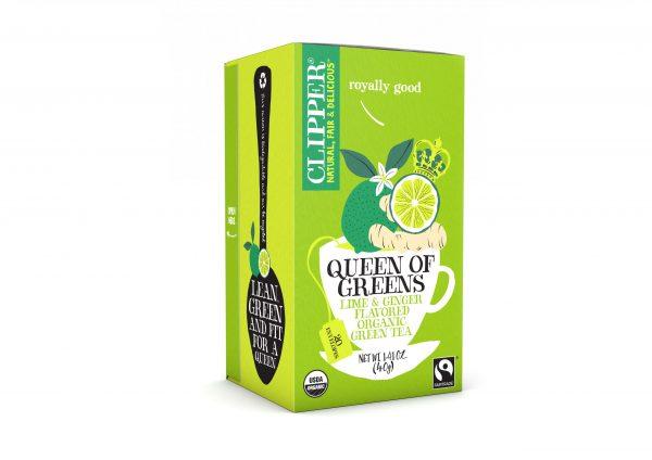 תה ירוק ג'יג'ר ליים קליפר'ס