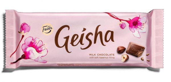 גיישה שוקולד חלב קרם אגוזים