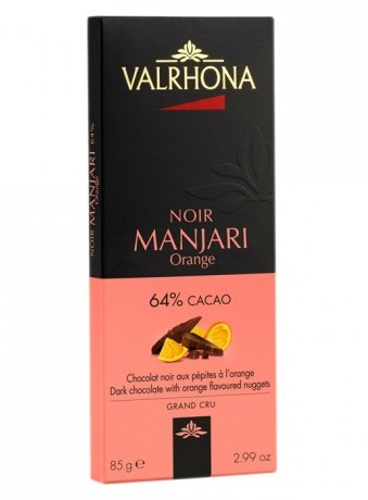 ולרונה  שוקולד מריר תפוז