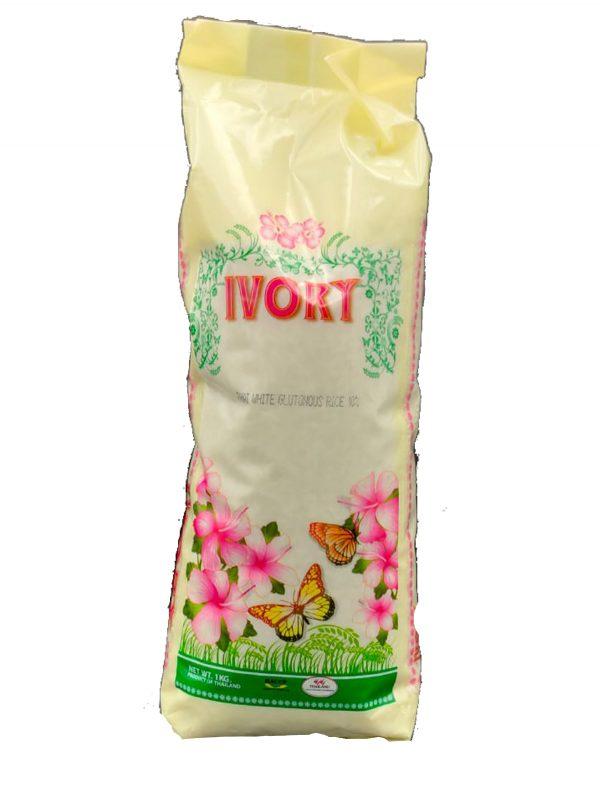 אורז דביק אייבורי