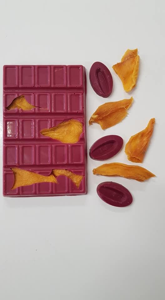 שוקולד קאג`ה תות ומנגו
