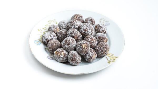 כדורי שוקולד ביתיים